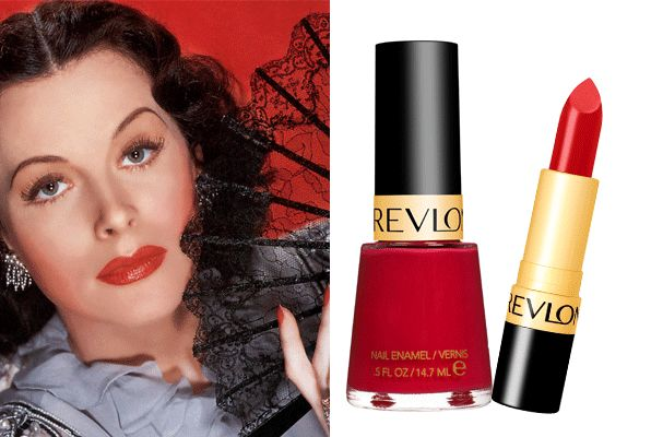Revlon Fire and Ice Lipstick and All Fired Up Nail Polish. Beautiful classics!