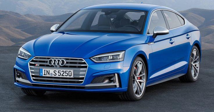 Audi's New 2017 A5 & S5 Sportback Family Revealed Before Paris Debut #Audi #Audi_A5_Sportback