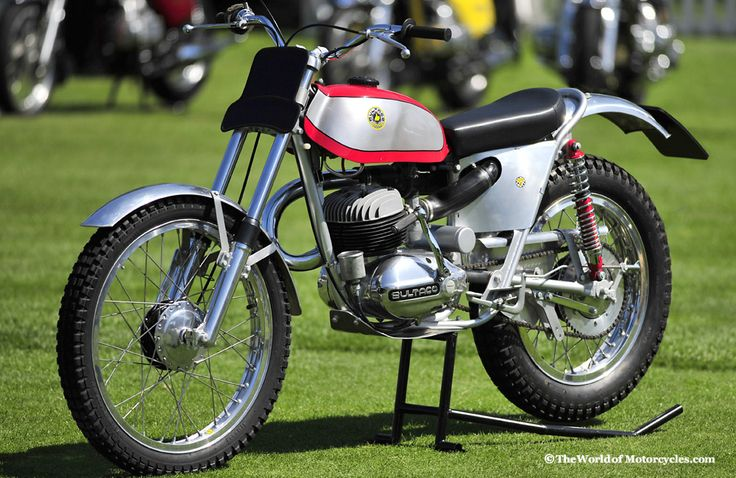 Bultaco Sherpa S 125cc Motocross Racer Raced Against These
