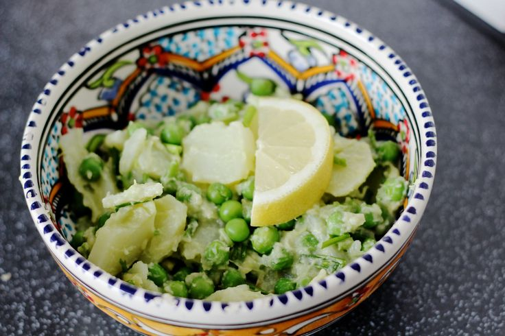 Zomerse salade met Carisma aardappelen, avocado en erwtjes   De Groene Meisjes