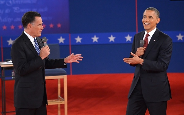 I know everyone is sick of politics but...this is hilarious... Mitt Romney's Five Nuttiest Moments From the Second Presidential Debate | Politics News | Rolling Stone