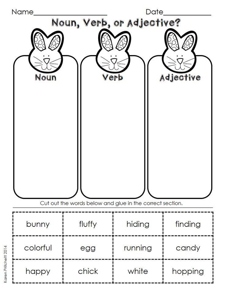 October First Grade Worksheets Worksheets Kindergarten Noun ...
