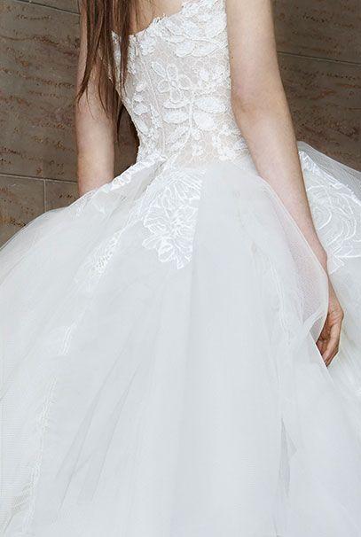 Вера Вонг свадебные платья 2015 Look 14