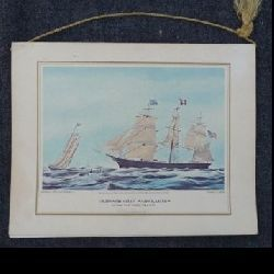 Pan American ship boat menu