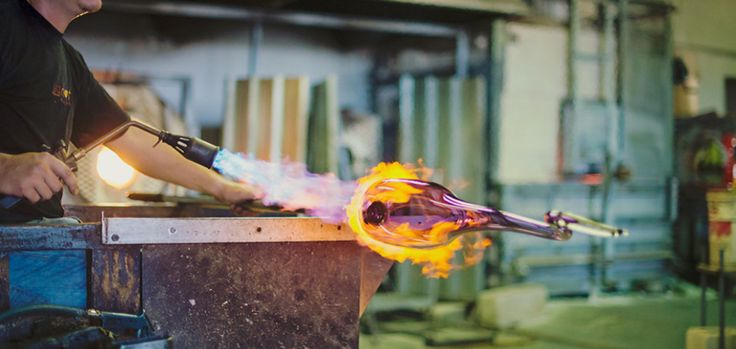 Visit the local artisans and shops which include a glass blowing studio, a brewery, an art gallery, a chocolate factory, a distillery, and a deli