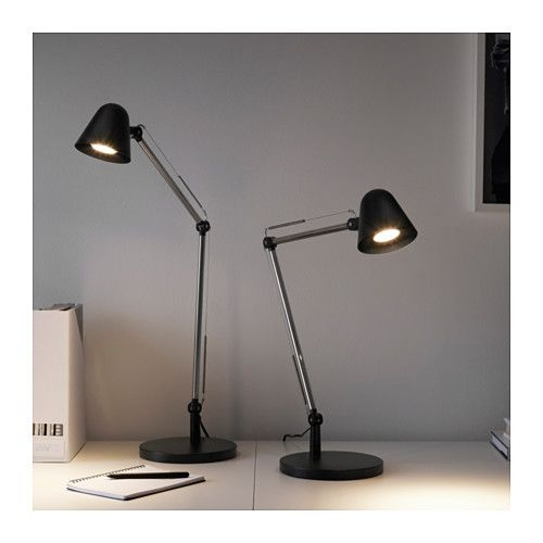 elegant uppbo work lamp with led bulb ikea with lampe poser ikea. Black Bedroom Furniture Sets. Home Design Ideas