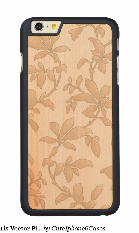 Cool Floral Swirls Vector Pink Carved® Maple iPhone 6/ 6s Plus Case design ready be purchased or customized by @CutephoneCases http://www.zazzle.com/cuteiphone6cases*  Find more #floral #Wood #iPhone6plus / #iPhone6splus Cases http://www.zazzle.com/collections/floral_iphone_6_6s_plus_wood_cases-119685023458144526?rf=238478323816001889