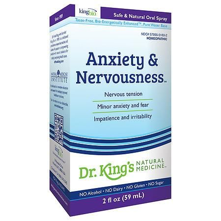 Dr King S Natural Medicine Anxiety And Nervousness