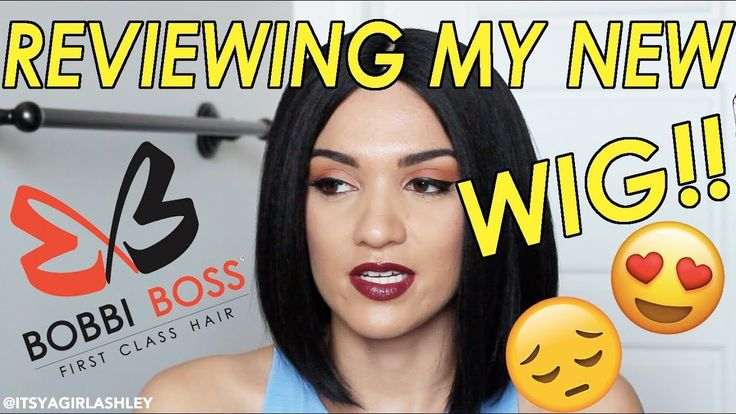 My 1st Wig! Bobbi Boss Lace Front APRIL Synthetic Wig