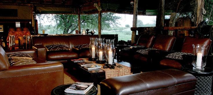 Haina Lodge lounge  #kalahari #botswana #safari #africa #travel #bushmen #desert #bigfive #wildlife #animals #lodgeaccommodation #gameviewing