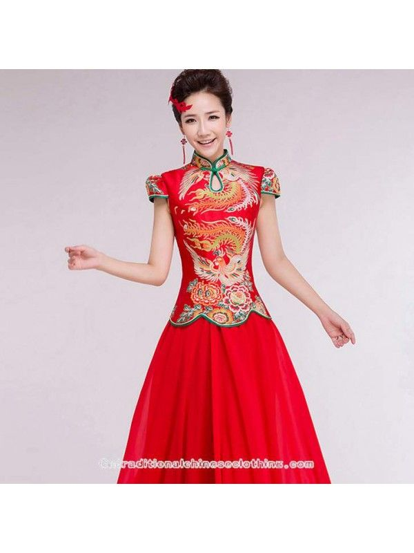 24 best Chinese Traditional Clothing,Red Dresses,Cheongsam/Qipao ...
