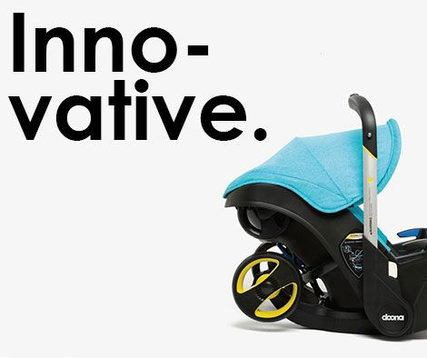 Doona™ is the world's first infant car seat with a complete and fully integrated mobility solution.