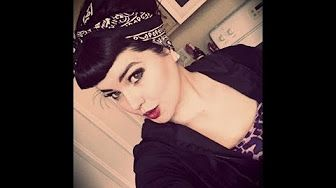 Retro Rockabilly Bandana hair tutorial by Susie Brown - YouTube