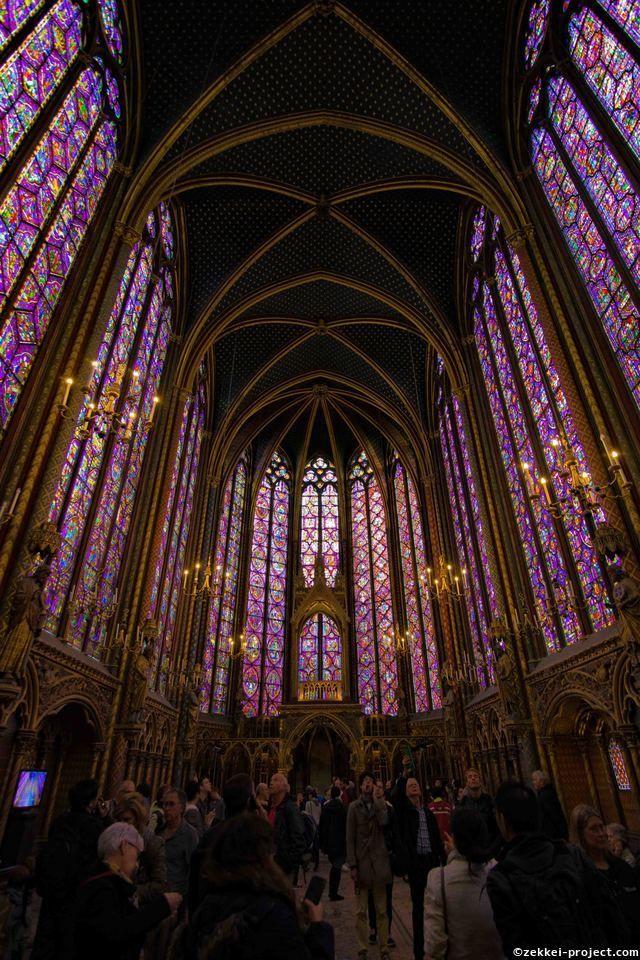 サント・シャペル大聖堂(パリ)@サント・シャペル | 死ぬまでに行きたい!世界の絶景