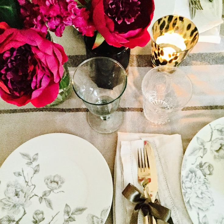 Eclectic Romantic Table Styling Selina Lake