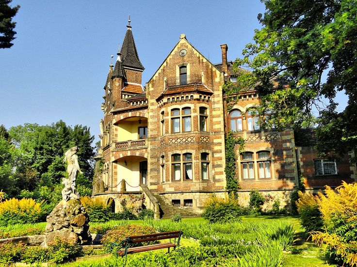 Zelenski Family Palace in Grodkowice. A house of noble family whose several members contributed significantly to culture of nearby Cracow and Poland at large.