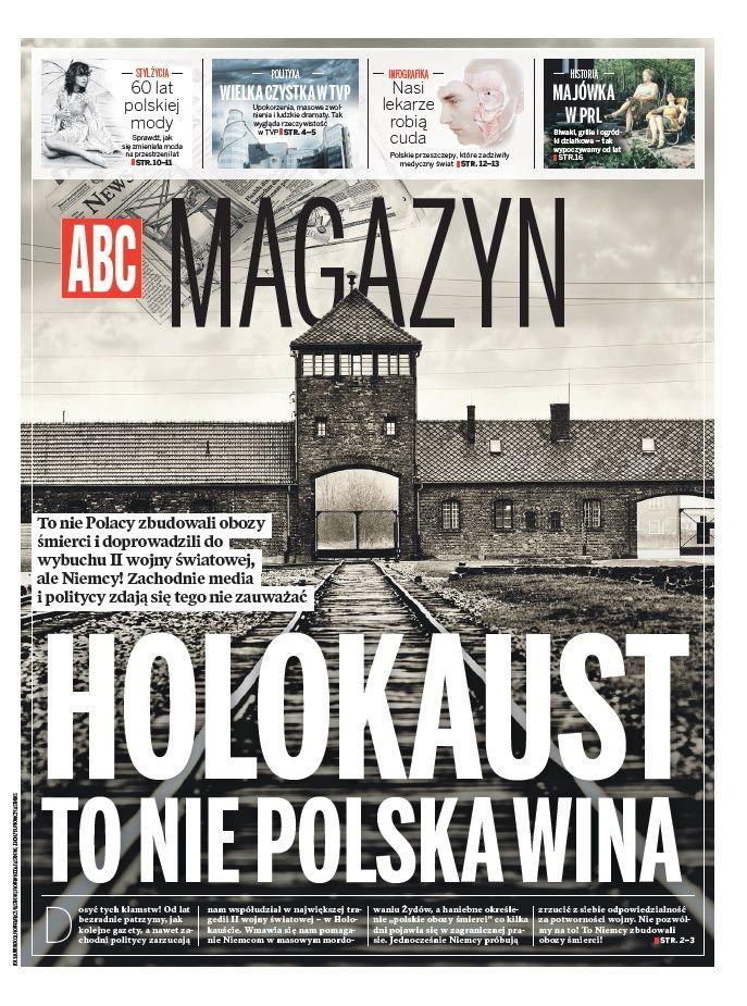 ABC Magazine 4/4 2015 Holokaust to nie Polska wina