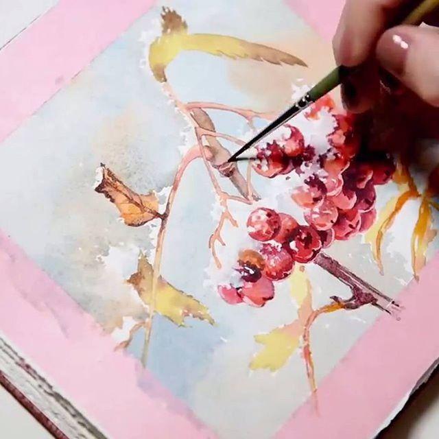 Watercolorist: @golandart  #waterblog #акварель #aquarelle #painting #drawing #art #artist #artwork #painting #illustration #watercolor #aquarela
