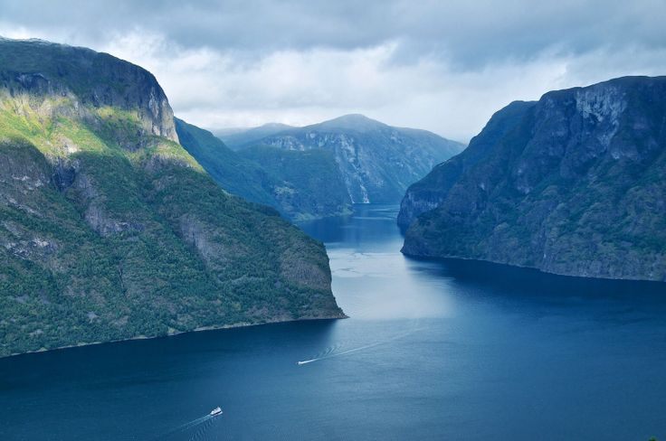 The Aurlandsfjord, Norway