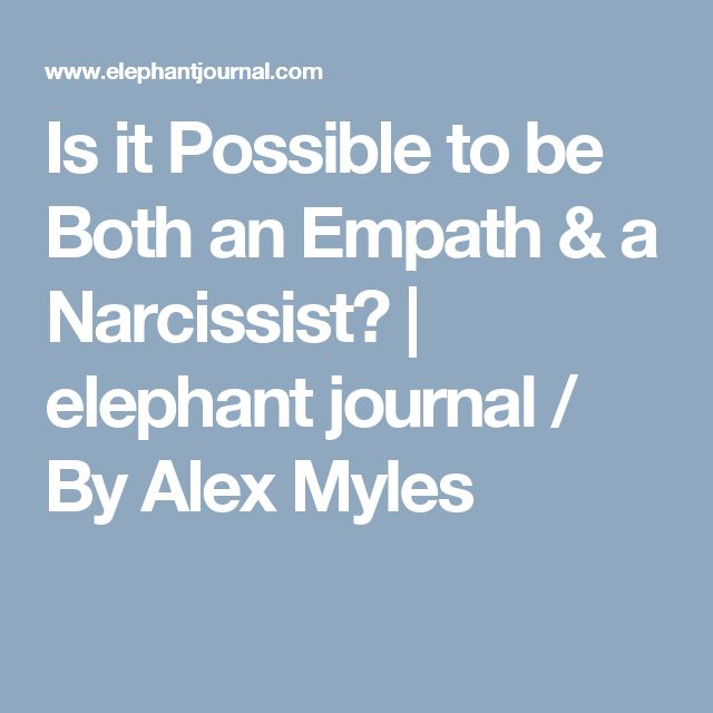 The Narcissist and the Empath A Toxic Attraction