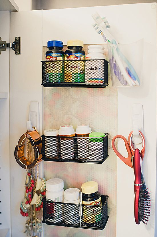 organized bathroom - Offbeat Home