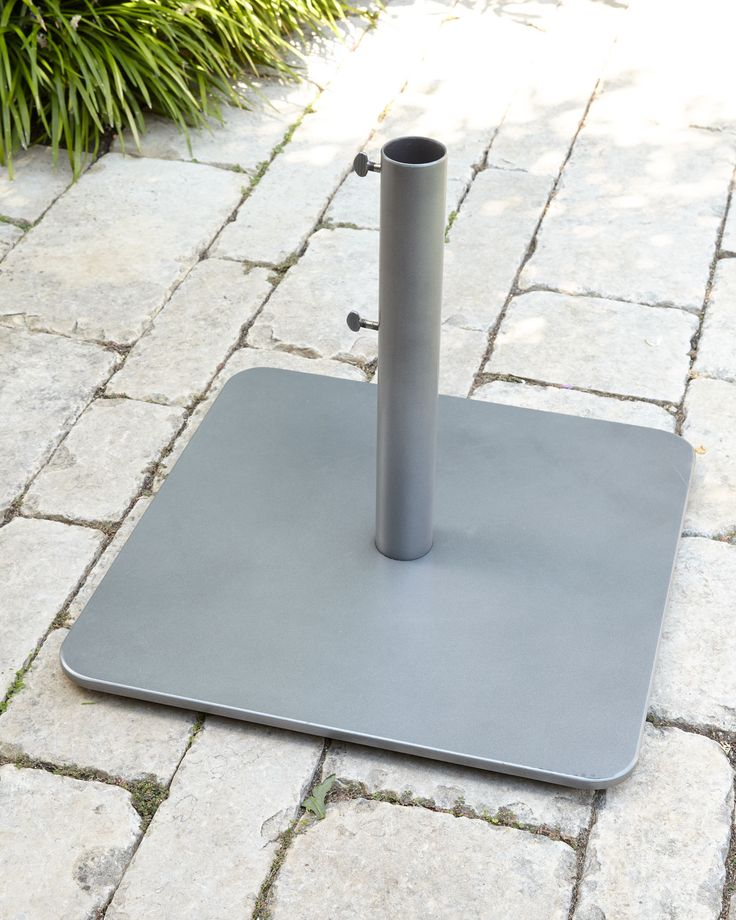 Slate (Grey) Low-Profile Steel Base - Neiman Marcus