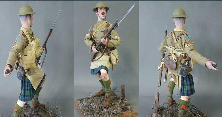 Corporal, Gordon Highlanders, 1917