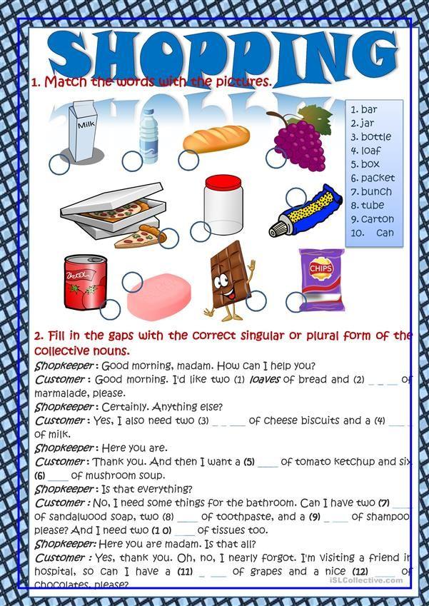 Food Esl Students Worksheets