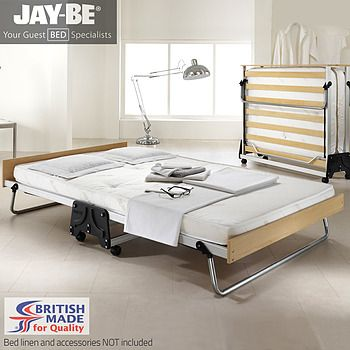 JAYBE J-BED FOLDING BED with Performance Airflow Mattress (DOUBLE) from Ron Campion Furnishers - www.roncampion.co.uk