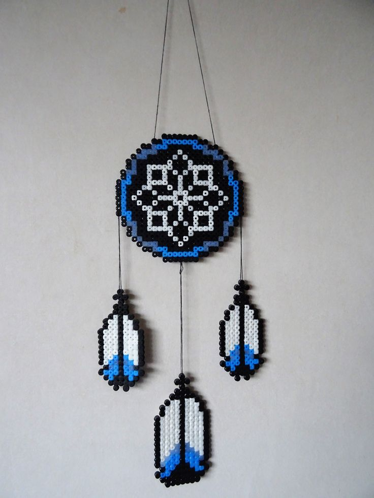 Drömfångare / dreamcatcher DIY!  Pärlad drömfångare.