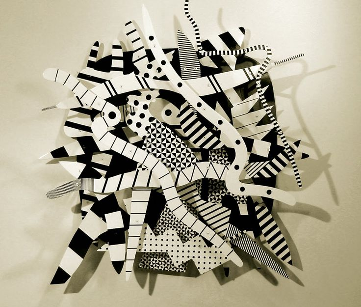 Charles McGee, Detroit artist Abstract assemblage