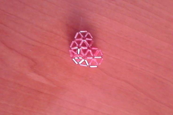 Srdce z tyčinek / heart of beads
