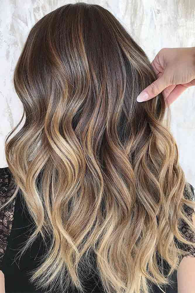 45 Suggestions For Dark Brown Hair Color Lovehairstyles Hair Balayage Hair Short Hair Balayage