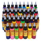 Eternal tattoo ink : Eternal tattoo ink  50 set color supply in mumbai | zaheerhamidbatli