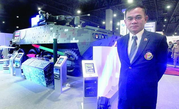 Quartermaster hails new age of local war machines – Black Widow Spider armoured personnel carrier
