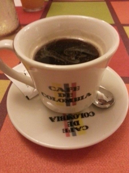 Cafe de Colombia on chaQula