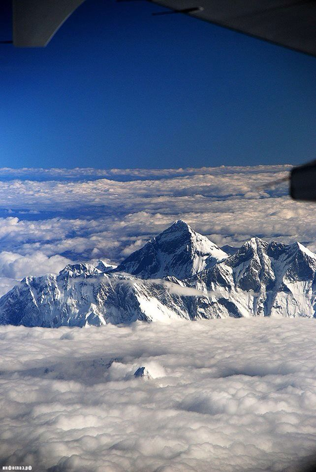 Mt. Everest.  This is a no brainer for me.  I will go one day.