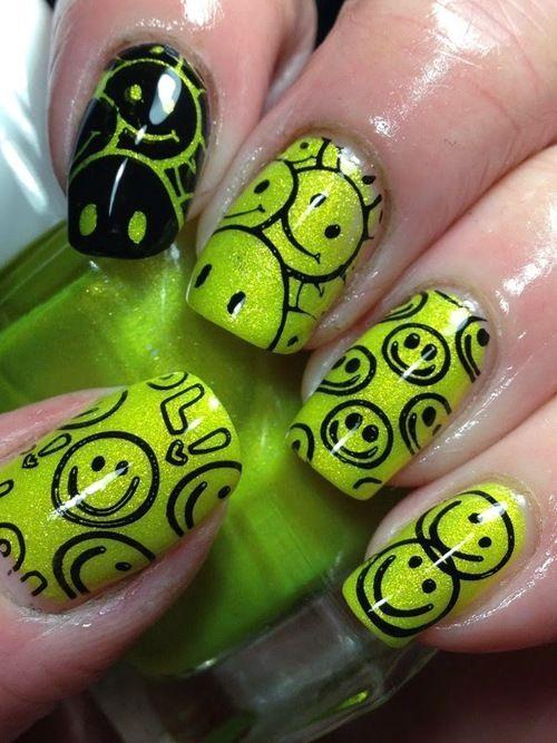 Mejores 35 imágenes de Nails en Pinterest   Calcomanías en uñas ...