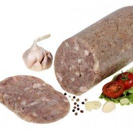 Knoblauchsülze - Salceson czosnkowy