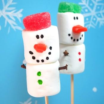snowman crafts | Marshmallow Snowmen - Things to Make and Do, Crafts and Activities for ...