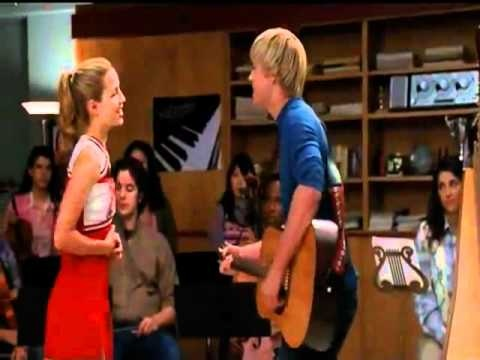S02E04 (Duets) - Lucky (Jason Mraz and Colbie Caillat - Sung by Sam Evans and Quinn Fabray) on glee