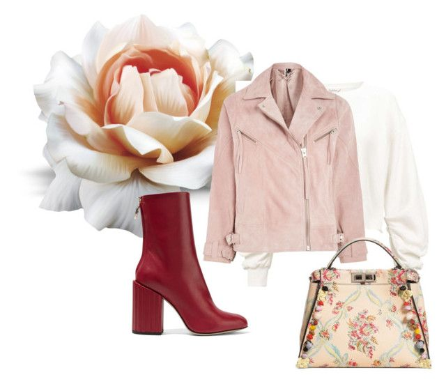 """""""More Flowers for Fall"""" by rhymingscapes on Polyvore featuring Miss Selfridge, Petar Petrov, Topshop and Fendi"""