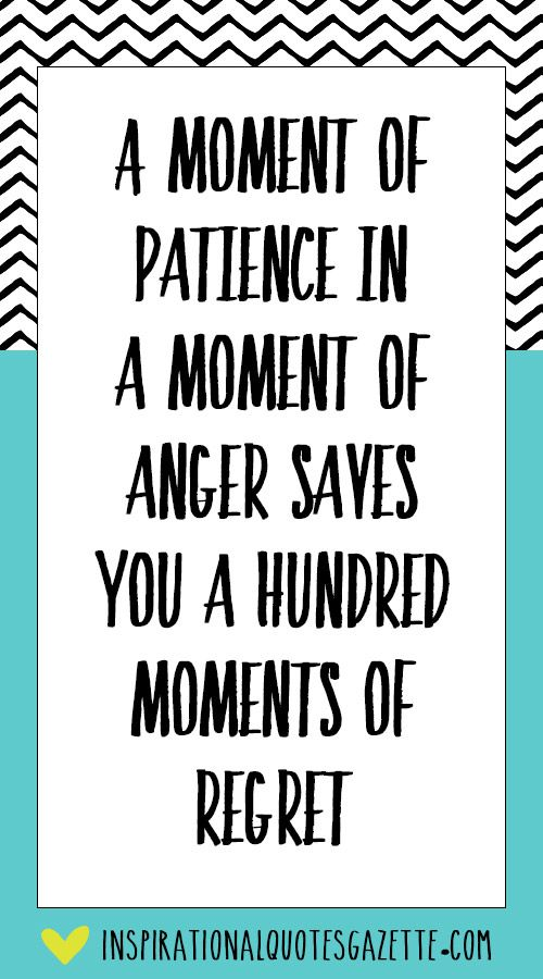 Inspirational Quote about Life and Being Patient - Visit us at InspirationalQuotesGazette.com for the best inspirational quotes!