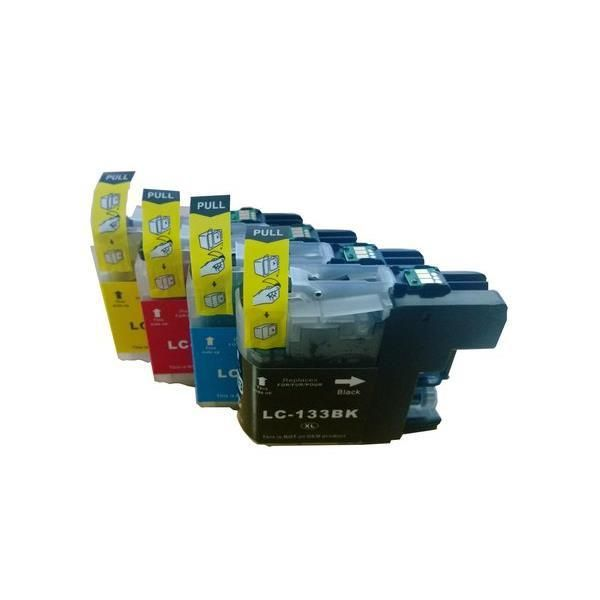 Brother LC133 Compatible Inkjet Cartridge Set  4 Ink Cartridges [Boxed Set] Our Price $34.05 Major Retailer Original Price $139.00 that's what I call savings Quality at Low Prices