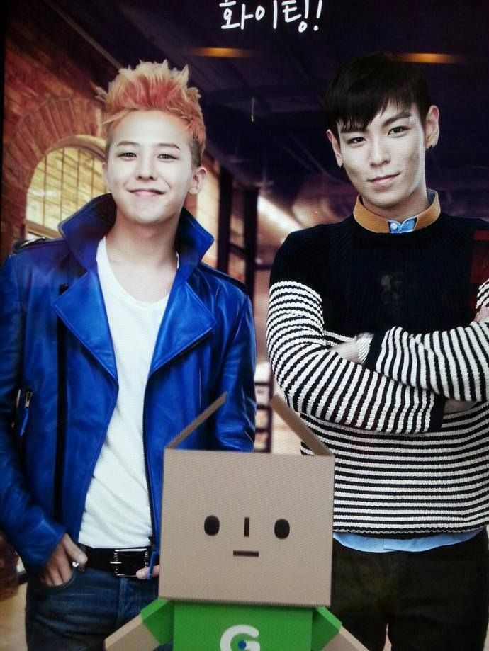 G-Dragon and Top ♥