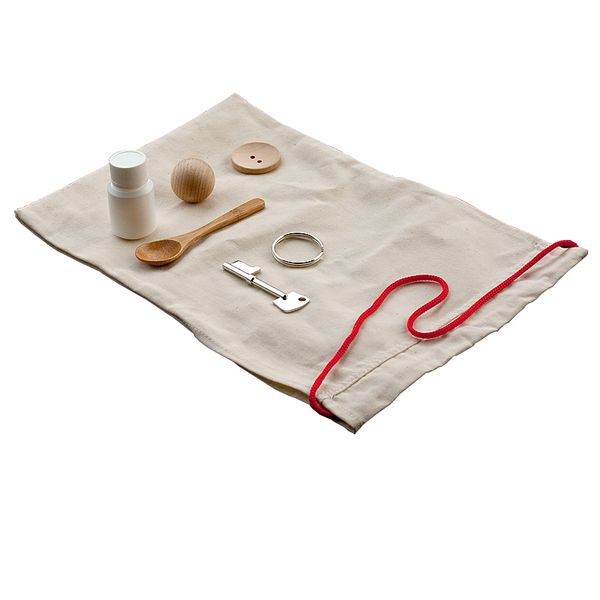 Mystery Bag (Familiar Items) from Montessori Outlet $9.95