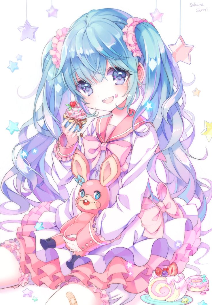 17 best images about vocaloid on pinterest so kawaii - Cute anime miku ...
