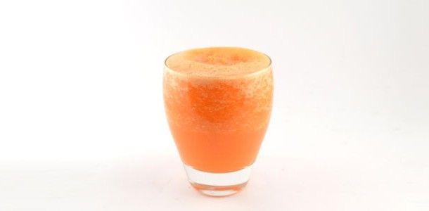 Wortel sinaasappel gember smoothie