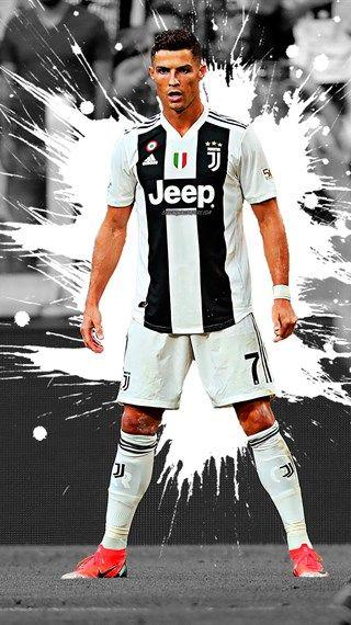 Cristiano Ronaldo 4k Larte La Juventus Il Calciatore Portoghese