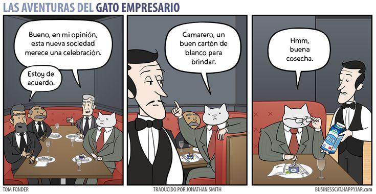 Business Cat - Bebidas